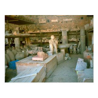 Cartão Postal Pompeii, alguns dos produtos manufacturados