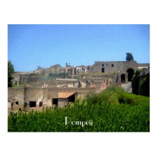 Cartão Postal Pompeii Italia