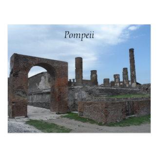 Cartão Postal Pompeii, Italia