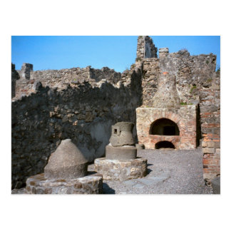 Cartão Postal Pompeii, padaria