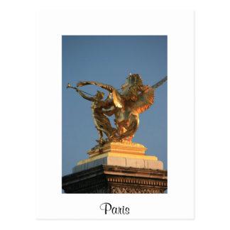 Cartão Postal Pont Alexandre III