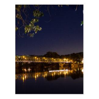 Cartão Postal Ponte da noite