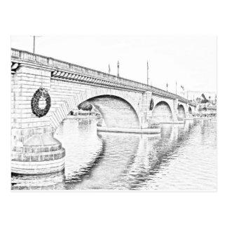 Cartão Postal Ponte de Londres