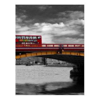 Cartão Postal Ponte Tamisa Londres de Vauxhall