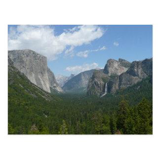 Cartão Postal Ponto da inspiração no parque nacional de Yosemite