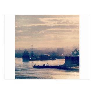 Cartão Postal Porto de Aberdeen