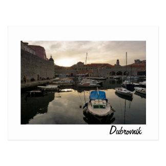 Cartão Postal Porto de Dubrovnik