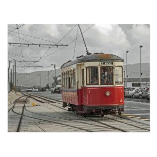 Cartão Postal Portugal: O bonde Sintra e Praia DAS Mäças