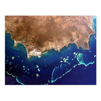 Cartão Postal Postcard Great Barrier Reef, Australia