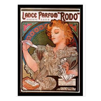 Cartão Postal Poster francês da publicidade de Nouveau da arte
