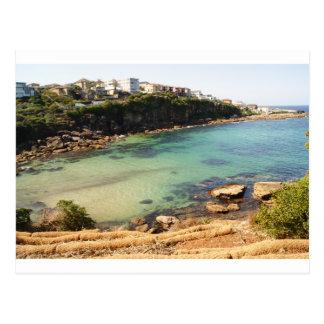 Cartão Postal Praia escondida