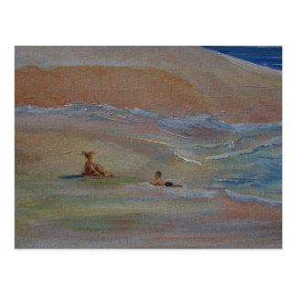 Cartão Postal Praia privada