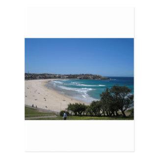 Cartão Postal Praia Sydney Austrália de Bondi