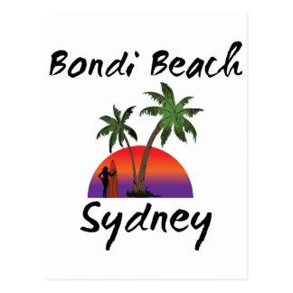 Cartão Postal praia sydney do bondi