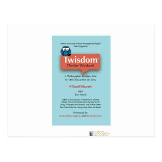 Cartão Postal Presentes Collectible da capa do livro de Tom V