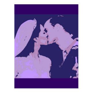 Cartão Postal Presentes de casamento reais/Kate & William