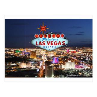 Cartão Postal Presentes de Las Vegas