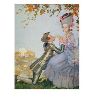 Cartão Postal Primeiro Amor, 1916