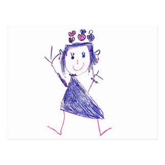 Cartão Postal Princesa Carolina