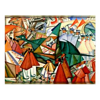 Cartão Postal Procissão de Corpus Christi - Amadeo de
