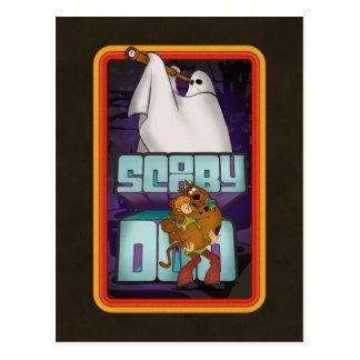 Cartão Postal Procura do fantasma de Scooby-Doo | desgrenhado &