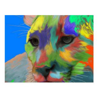 Cartão Postal Puma (escovado)