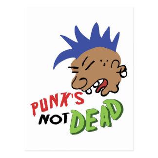 Cartão Postal Punk nao inoperante