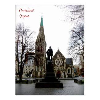 Cartão Postal Quadrado da catedral