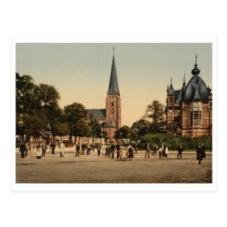 Cartão Postal Quadrado de Velper, Arnhem, Países Baixos