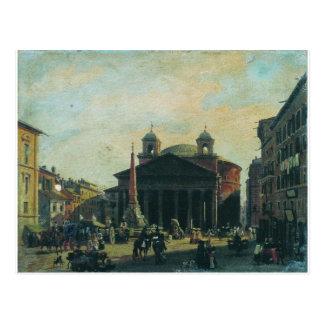 Cartão Postal Quadrado em Roma por Fyodor Bronnikov