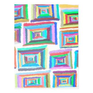 Cartão Postal quadrados