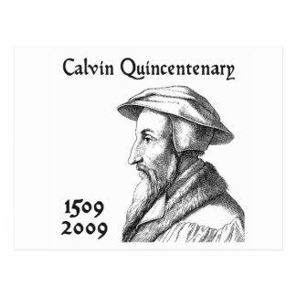 Cartão Postal Quingentenary de Calvin