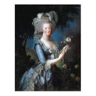 Cartão Postal Rainha Marie Antoinette da descrição sumária de