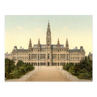 Cartão Postal Rathaus, Viena, Áustria