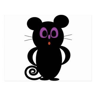 Cartão Postal rato