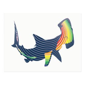 Cartão Postal Redemoinho da cor do tubarão