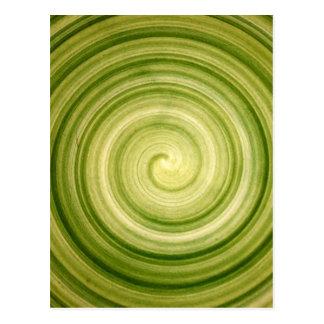 Cartão Postal Redemoinho verde