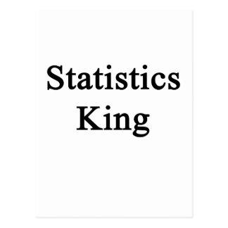 Cartão Postal Rei das estatísticas