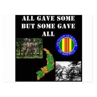 Cartão Postal Relembrança de Vietnam