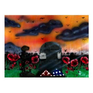 Cartão Postal Relembrança do veterano