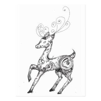 Cartão Postal Rena