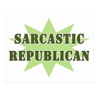 Cartão Postal Republicano sarcástico