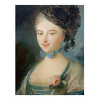 Cartão Postal Retrato da senhora Balzac, c.1798