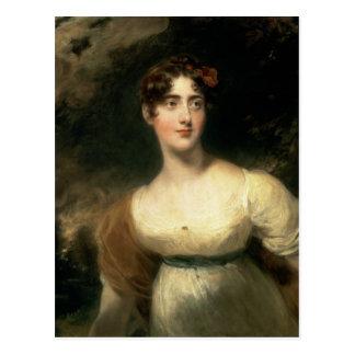 Cartão Postal Retrato da senhora Emily Harriet Wellesley-Pólo