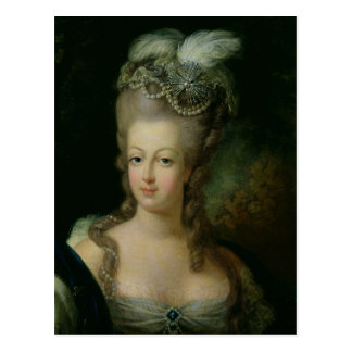 Cartão Postal Retrato de Marie-Antoinette