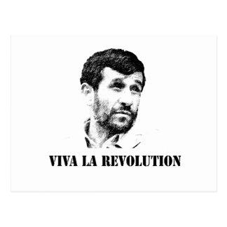 Cartão Postal Revolução do la de Ahmadinejad - de Viva