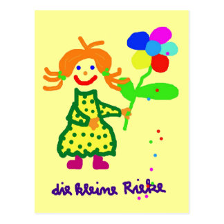 """Cartão postal """"Riekes Blümchen """""""