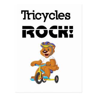Cartão Postal Rocha dos triciclos!