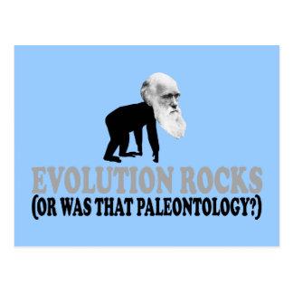 Cartão Postal Rochas da evolução