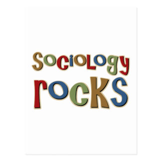Cartão Postal Rochas da Sociologia